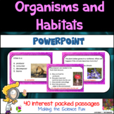 Organisms and Habitats PowerPoint