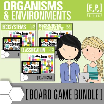 Organisms and the Environment Science Board Game Review Mini Bundle