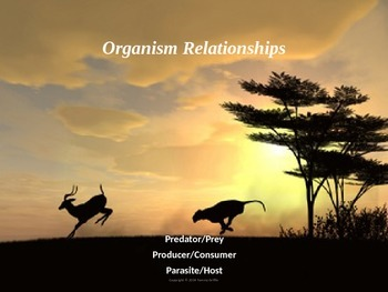 Organisms And The Environment with Workheet