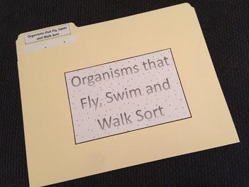 Walk, Swim or Fly Sort