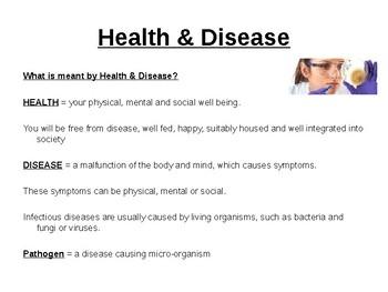 Organisms that cause Disease.