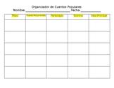 Organizador de Cuentos Populares