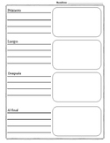 Organizador para secuenciar/ Sequencing Organizer in spanish