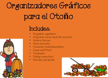 Organizadores Graficos Otono Fall Spanish Graphic Organizers