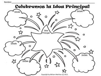 Organizadores Gráficos para Lectura con Temas Patrióticos