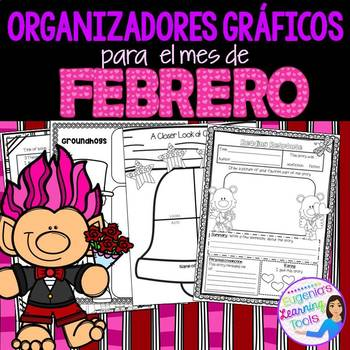Organizadores Gráficos para Febrero
