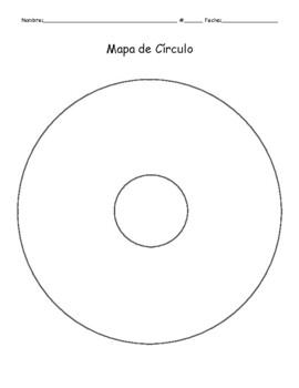 Organizadores Gráficos (Graphic organizer bundle in Spanish)