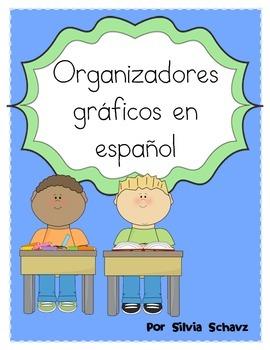 Organizadores Gráficos en español: Graphic Organizers in Spanish