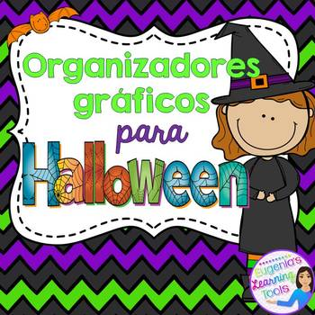 Organizadores gráficos para Halloween - Spanish