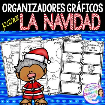 Organizadores gráficos para La Navidad -Spanish
