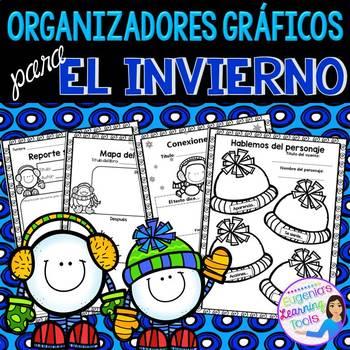Organizadores gráficos para el invierno - Spanish
