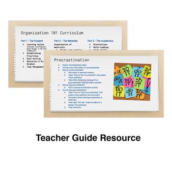 Organization 101 #6 Procrastination; Executive Functioning; Study Skill