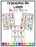 Organization Bin Labels