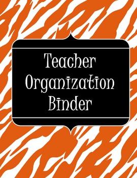 Organization Binder-Zebra