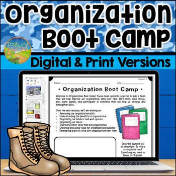 Organization Boot Camp - Distance Learning - Google Classroom
