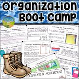 Organization Executive Functioning Skills Lessons | Digital & Print