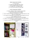 Organization Checklist
