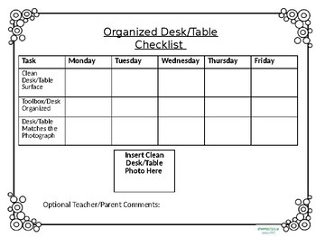 Organization Checklist, Daily Report, Classroom Job tickets and more