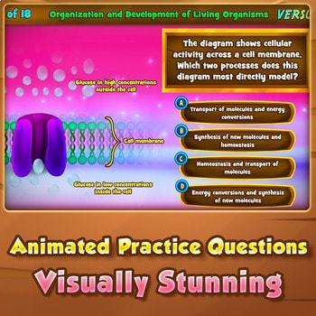 Organization & Development of Living Organisms - Quiz Game Warm-Up
