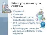 Organization: Follow the recipe?
