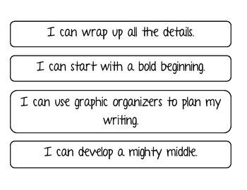 Organization I CAN Statements