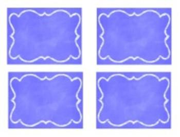 Organization In Style - Ultimate Classroom Organization Kit (Cobolt Blue)