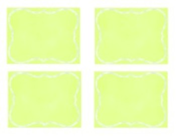 Organization In Style - Ultimate Classroom Organization Kit (Lime Green)