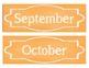 Organization In Style - Ultimate Classroom Organization Kit (Orange)