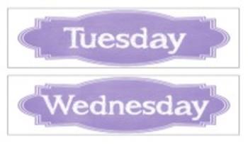 Organization In Style - Ultimate Classroom Organization Kit (Purple)