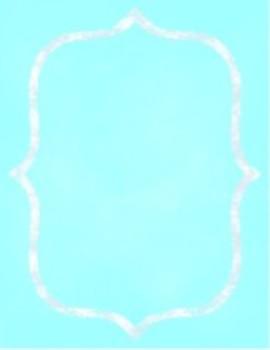Organization In Style - Ultimate Classroom Organization Kit (Turquoise)