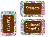 Paisley Supply Labels