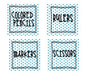Organization Labels- Dots