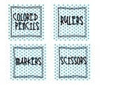 Organization Labels- Dots