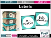 Organization  Labels {{Editable & 12 colors}}