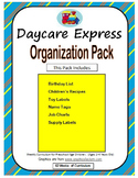 Organization Pack (Birthday Poster, Classroom Jobs, Name Tags, & More)