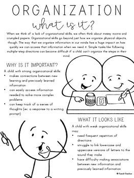 Organization Parent Letter