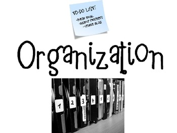 Organization Powerpoint for FCS Interpersonal Studies Course