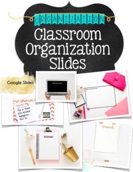 Organization Slides for Bellringer, Instructions, Ticket out the Door, & HW