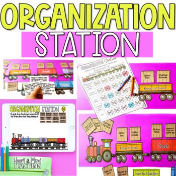 Organization Station Sort activity