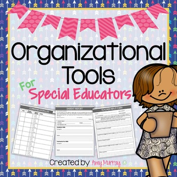 Organization Tools for Special Education (ESE) Teachers