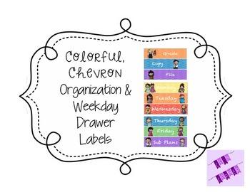 Organization & Weekday Drawer Labels