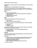 Organization Writing Lesson