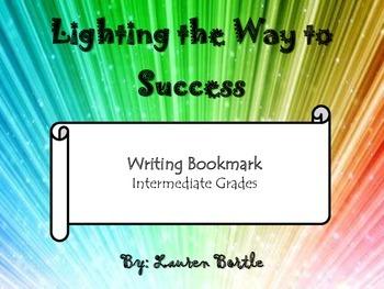 Organization and Word Choice Writing Bookmark - Intermedia