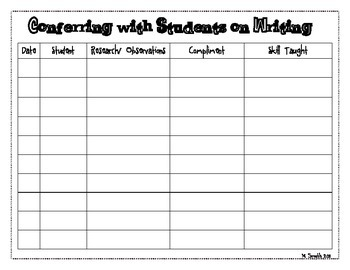 Organization forReaders and Writers Workshop- featuring CCSS for 1st grade