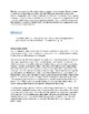 Organization of Life Activity HS-LS1-1