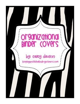 Organizational Binder Covers