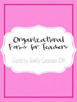 Organizational Forms For Teachers
