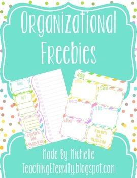 Organizational Freebie