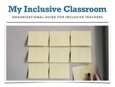 Organizational Guide for Inclusive Teachers e-book