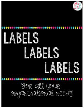 Organizational Labels